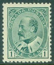 CANADA : 1903. Unitrade #89 Very Fine, Mint OG LH with large margins. Cat $60.00