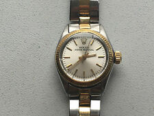 Late 50's Early 60's Rolex Oyster Perpetual 6619 18K & SS LDS Auto Watch