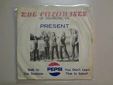 """COLONISTS:Walk In The Sunshine-You Don't Learn That In School-U.S. 7"""" 72 Col.PSL"""