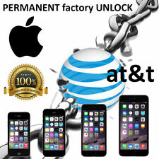 PREMIUM SPEED FACTORY UNLOCK SERVICE AT&T APPLE IPHONE SE 6+ 6 5S 5C 5 4S 3GS