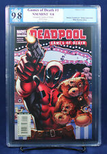 Deadpool Games of Death HTF One Shot PGX (not CGC) 9.8 NM/MT - Stunning!