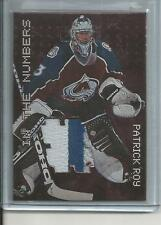 99-00 BAP Ultimate Millenium Signature Series Patrick Roy Jersey Number Reduced