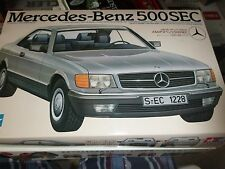 TAMIYA MERCEDES-BENZ 500SEC #24029 1/24 MODEL CAR MOUNTAIN KIT