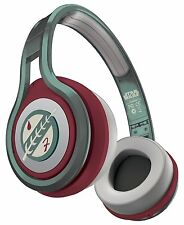SMS Audio STREET by 50 First Edition Star Wars On Ear Headphones Boba Fett - NEW