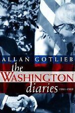 The Washington Diaries: 1981-1989-ExLibrary