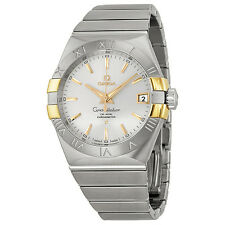 Omega Constellation Co-Axial Automatic Stainless Steel and Yellow Gold Mens
