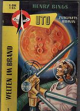 Henry Bings: Welten im Brand, UTO-Zukunftsroman Nr. 5, Balve Taschenbuch