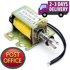 DC 12V tipo Push Open Frame ATTUATORE solenoide electromagnet 0.8 N zye1-0837zp NUOVO
