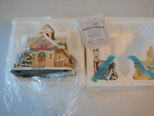 2001 Hawthorne Village Precious Moments Merry Memories School Christmas Village