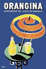 Vintage Orangina 16x20 Advertisement Print Poster Wall Decor 2102