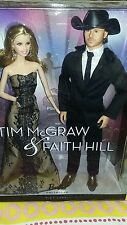 Barbie Collector Tim McGraw & Faith Hill Doll Set