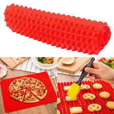 Pyramid Shape Pan Non-Stick Reducing Silicone Cook Mat Tool Baking Tray Sheets