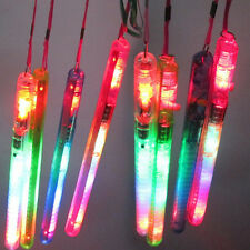 5Pc Flashing Wand LED Glow Light Up Stick Patrol Blinking Concert Party Favors