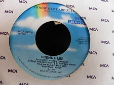 BRENDA LEE From Elvis to Calvin Klein Jeans / i know a lot about love MCA 51230