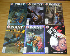 Point Blank #1-5 VF/NM complete series + variant PREQUEL ED BRUBAKER'S SLEEPER