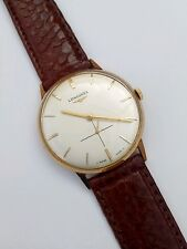 VINTAGE RARE LONGINES RE PAINTED DIAL  HANDWIND WATCH WORKING