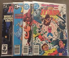 4 Lot Mint Condition DC Collectible Comic Books The New Teen Titans