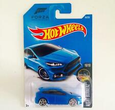 HOTWHEELS '16 FORD FOCUS RS ( FORZA MOTOSPORT )  - HOT PICK