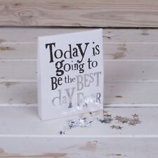 Today is going to be the best day ever Party confetti Table sprinkle Wedding New