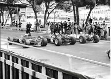 JOHN SURTEES JO SIFFERT GINTHER T1G QUALIFYING PHOTOGRAPH MONACO GRAND PRIX 1967