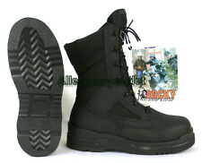 ROCKY US Navy Military Flight Deck Hot Weather Steel Toe COMBAT BOOTS 6129 4.5 W