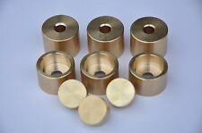 Adams (Adams Prologue) Trumpet Trim Kit Heavy Caps. KGUBrass. Raw Brass. TKHR100