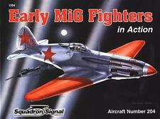 Squadron Signal WWII Russian Early MIG Fighters soft cover illustrated book