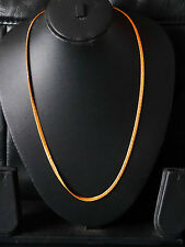 22k gold plated chains necklaces fashion jewelry gift present Gold chain  H61