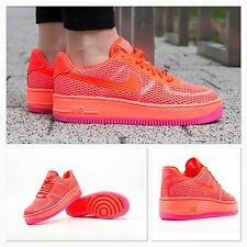 BNIB Womens UK 4 Nike AF1 Low Upstep BR Air Force 1 Breeze Trainers Shoes Rare
