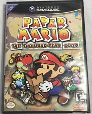 Paper Mario: The Thousand-Year Door (Nintendo GameCube, 2004) Complete Tested