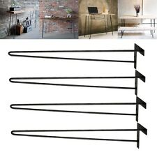 "28"" Inch Hairpin Table Legs DIY Modern Solid Iron Dining Table Desk Set of 4"