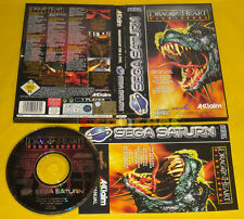 DRAGONHEART FIRE & STEEL Sega Saturn Versione Italiana Dragon Heart »»» COMPLETO