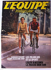 L'Equipe Magazine n°77 du 5/09/1981; Syd Maree/ Les heures chaudes de l'été