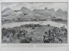 1914 SOUTH AFRICA DEATH OF GENERAL BEYERS VAAL RIVER WESTERN TRANSVAAL WWI WW1