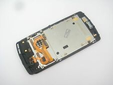 Full LCD display + Touch screen with frame for nokia 700 (Black)