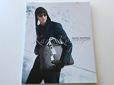 LOUIS VUITTON CATALOG FALL 08 MENSWEAR MEN DAMIER GRAPHITE BAGS SHOES RARE NEW