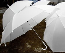 white umbrella transparent umbrella Parasol For Wedding Favor+