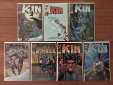 Image Comics KIN #1, 2, 3, 4, 5, 6 + Dynamic Forces Variant #1; Gary Frank 2000
