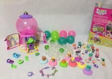 Squinkies 82 pieces Gumball Machine playhouse bracelet ring furniture balls