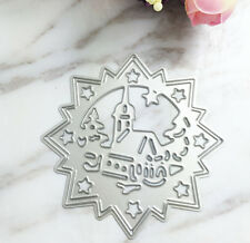 castle Metal Leaves Cutting Dies Stencils For DIY Scrapbooking Decor Craft