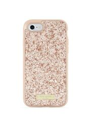 Kate Spade Exposed Glitter Case for iPhone 7 - Rose Gold -
