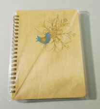 Night Owl Paper Goods Wooden Journal Bird Design (RETIRED) MSRP: $18.50