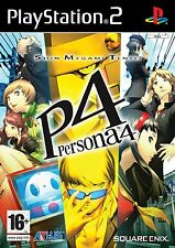 PS2 Persona Shin Megami Tensei 4 Incl. Colonna sonora Gioco Sony Playstation 2