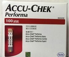 100 Test Strips for Accu Chek Performa & Performa Nano Blood Sugar Glucometer