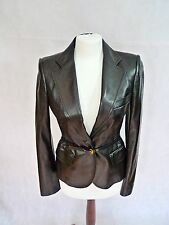 Tom Ford For Gucci Iconic Black Soft Leather Jacket Size 40