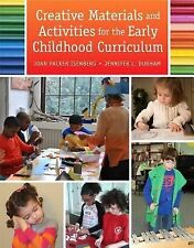 Creative Materials and Activities for the Early Childhood Curriculum by Jenn...