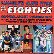 VARIOUS ARTISTS-NUMBER ONE HITS OF THE EIGHTIES CD OOP