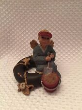 Sarah's Attic Vintage Beach Labor of Love Angel w Shovel & Bucket RARE HTF