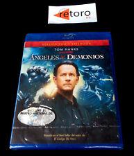 ANGELES Y DEMONIOS BLUERAY DISC Blue ray Version Española Nuevo Precintado