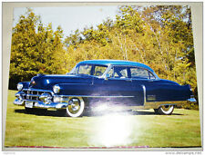 1953 Cadillac Fleetwood 4 door sedan car print (blue)